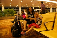Rashmi and Aarav at IGI T3