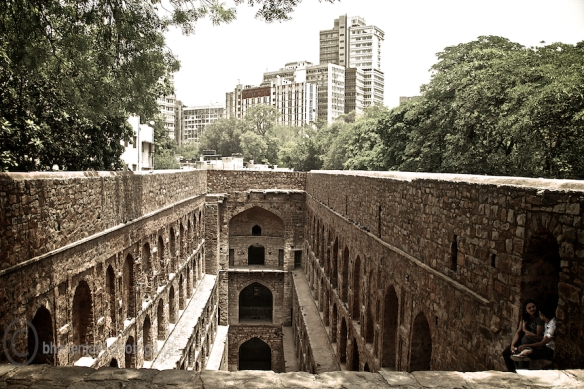 Agrasen ki Baoli is right in the heart of the city, amidst sky-scrapers of Connaught place