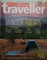 Cover page of Outlook Traveller Dec 2011