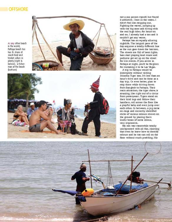 My article on Pattaya in Terrascape magazine - Dec 2011 issue