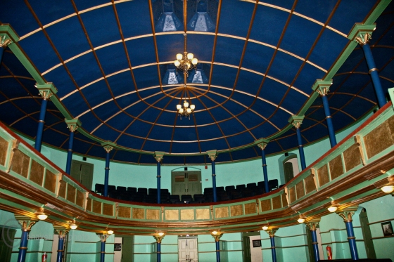 Inside Gaiety theatre in Shimla