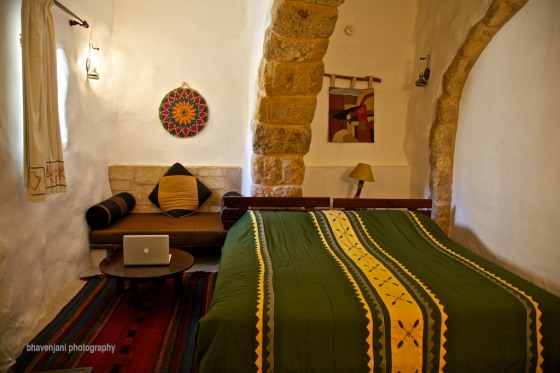 A room at the Taybet Zaman hotel in Petra