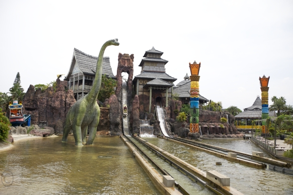 Water rides at Leofoo Village, Taiwan