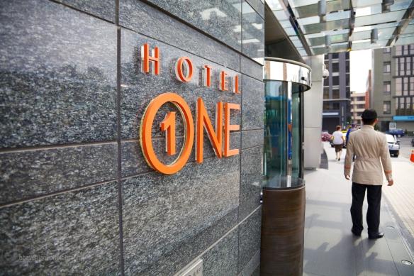 Hotel One at Taichung, Taiwan