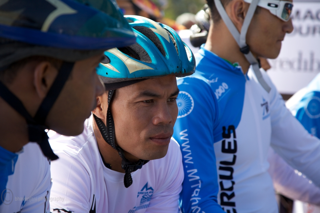 Who do you think will win the MTB Himalaya event this year! says the expression
