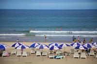 A picture perfect postcard beach