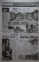 Alluring Alberta - Asian Age article on 11th Nov 2012