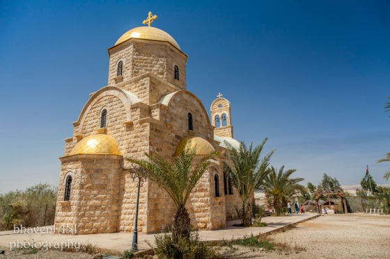 A church in Bethany, the site of Jesus Christ's baptism