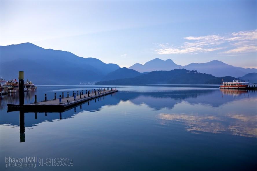 Sun Moon lake in Taiwan