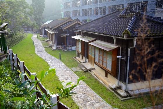 Tea houses in Sun Moon lake, Taiwan